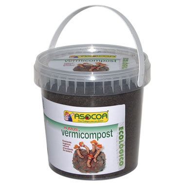Humus de Lombriz Vermicompost