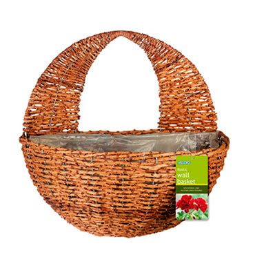 cesta pared rattan