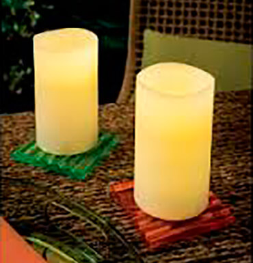 Velas led 2 packs
